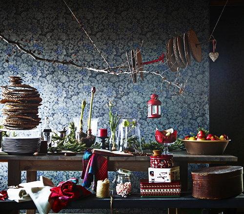 Riverdale Keuken Blikken : De LIAMARA muurdecoratie biedt uitkomst. Deze alternatieve kerstboom