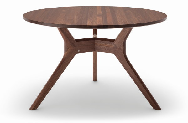 Ronde houten eettafel beste inspiratie voor huis ontwerp for Houten eettafel design