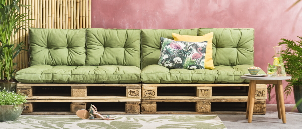 leen bakker tuin collectie 2018 le sud loungekussens florence foto leen bakker op