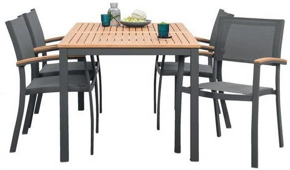 leen bakker tuin collectie 2018 le sud tuinset cognac 4 stoelen tafel