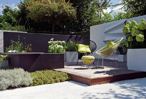 Droomhome interieur woonsite for Planten moderne tuin