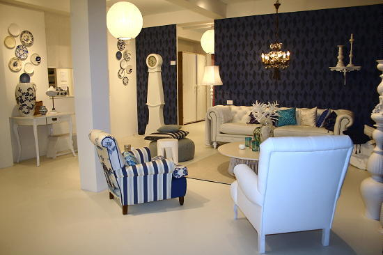 Ariadne at home delfts blauw droomhome interieur woonsite - Fotos van woonkamer meubels ...
