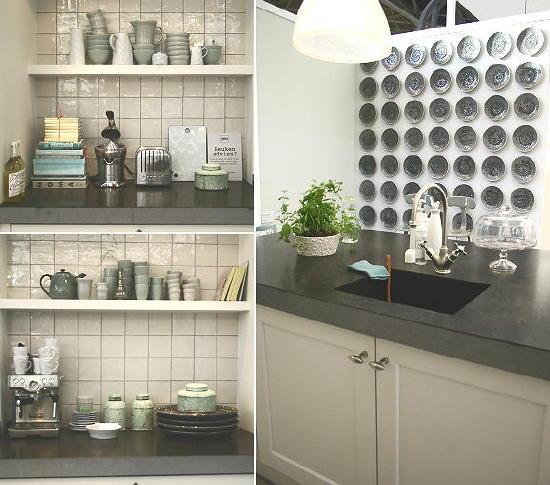 Wandtegels Keuken Karwei : : Ariadne at Home Huis op de Woonbeurs Amsterdam Landelijke Keuken