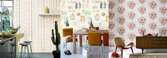 Behang Keuken Vtwonen : Behang Trends – De 7 Schoonheden voor de Wand – met Behang, Verf, Stuc