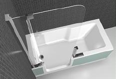 Badkamer Bad Afmetingen : Kleine badkamer compacte wellness droomhome interieur woonsite
