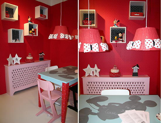 Disney kinderkamer droomhome interieur woonsite - Decoratie roze kamer ...
