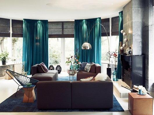 Kleur woonkamer inspiratie for Interieur kleuren