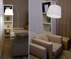 jan des bouvrie behang fauteuil booglamp boekenkast tapijt uit de jan des