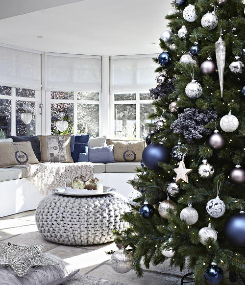Kerst in huis droomhome interieur woonsite - Mooie huis foto ...