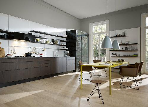 Droomhome interieur woonsite - Keuken coloree ...
