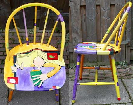 stoel in de kunst zonnehart 2010 haikoes en moderne kunst