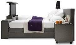 Slaapkamer Televisie Flatscreen in Voetbord van Bed LEES MEER ...