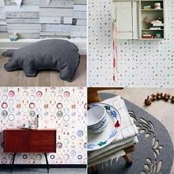 Studio Ditte Behang & Wallpaper Design met Folklore Interieur Accessoires Inspiratie LEES MEER (DroomHome.nl)