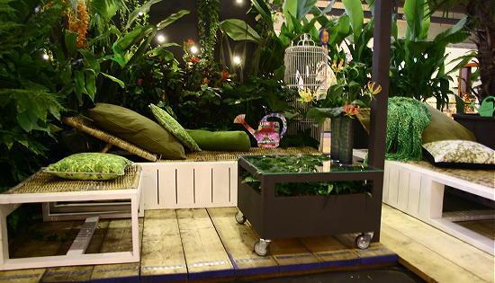Woonbeurs terras tuin trends droomhome interieur woonsite - Terras tuin decoratie ...
