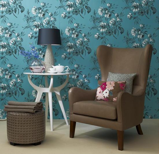 Slaapkamer Behang Romantisch : behang slaapkamer romantisch : Wit gecombineerd met roze Een variatie