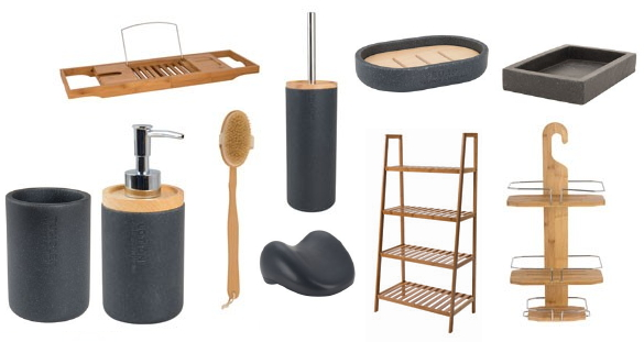 alles voor de thuis spa met xenos badkamer accessoires xenos badkamer en toilet set nature