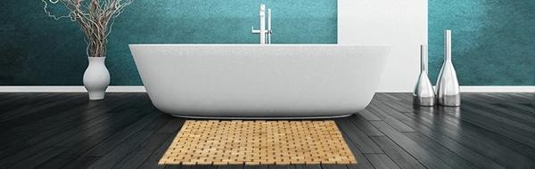 alles voor de thuis spa met xenos badkamer accessoires xenos badmat bamboe met antislip strips