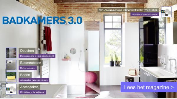 Badkamers 3.0 Digitaal Magazine - DroomHome | Interieur & Woonsite