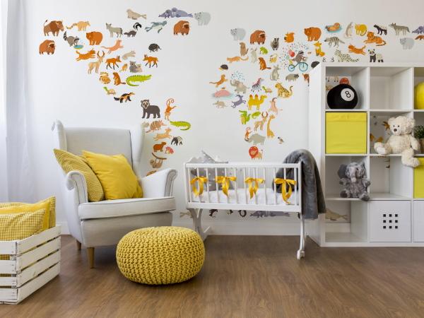 Dieren Behang Kinderkamer : Behangpapier kinderkamer realisaties van onze klanten