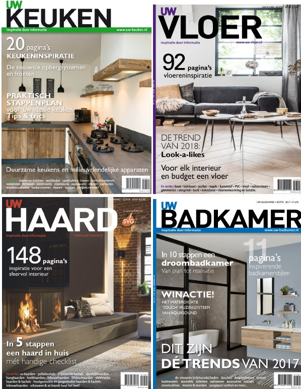 Uw woonmagazine droomhome interieur woonsite for Woonmagazines nederland