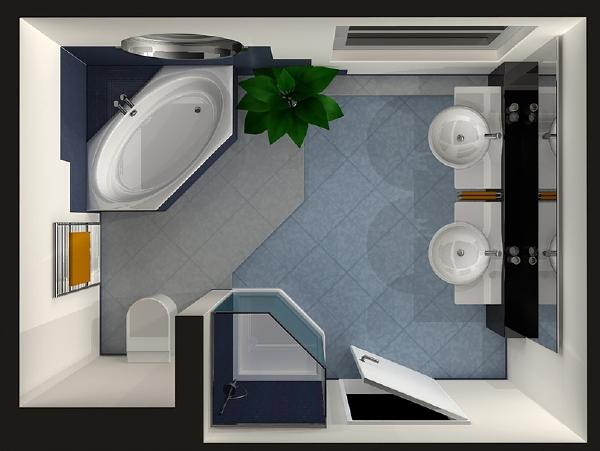 5 tips voor het opnieuw inrichten van de badkamer for Badkamer 3d inrichten