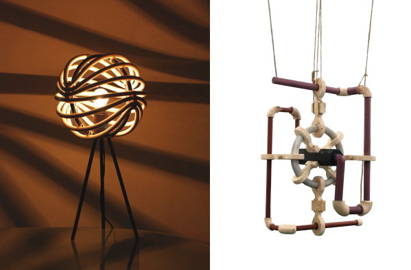 Designbeurs OBJECT Rotterdam 2021 – Designers Julia Lok en  Denny R Priyata lamp (Foto Object Rotterdam  op DroomHome.nl)