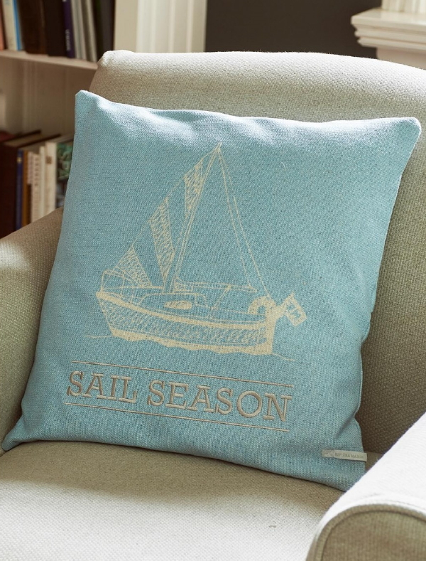 Riviera Maison zomer 2018 collectie Formentera – kussenhoes Sail Season pillow cover (Foto Riviera Maison  op DroomHome.nl)