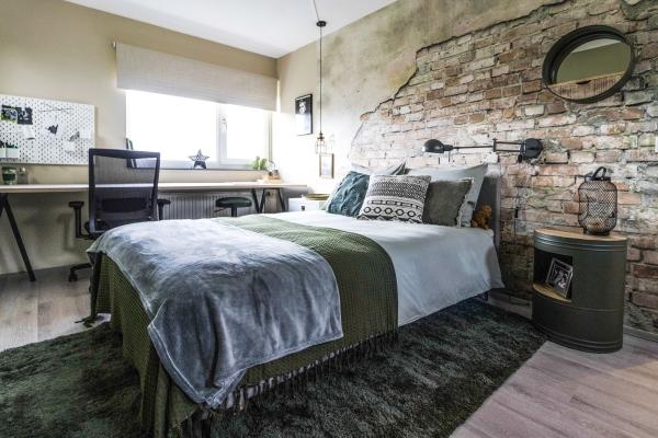 Slaapkamer Groen Grijs : Slaapkamer make overs foto s droomhome interieur woonsite