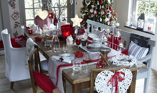 Kerst Tafel Decoratie : Droomhome interieur & woonsite