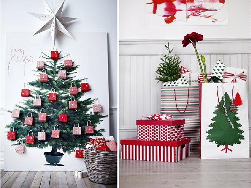 Droomhome interieur woonsite for Action kerstboom