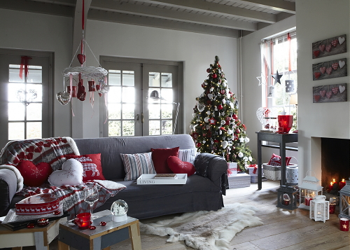 red white and grey living room droomhome interieur amp woonsite 24387