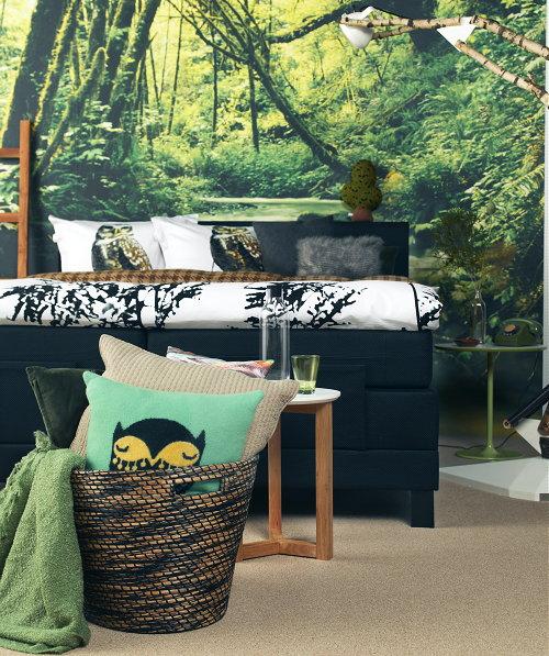 Boswandeling slaapkamer droomhome interieur woonsite - Trendy slaapkamer ...
