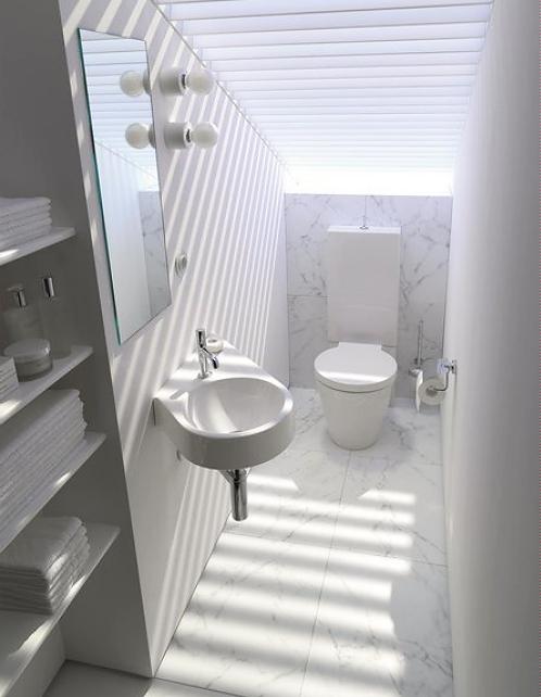 kleine slaapkamer met badkamer – artsmedia, Deco ideeën