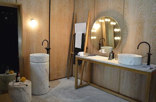 Badkamer Wasbak : Badkamer Trends: Badkamer Hotspot in Huis - Marmeren ...