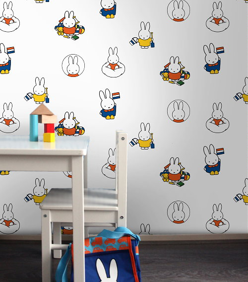 lief nijntje behang nijntje behang miffy wallpaper design graham brown voor de