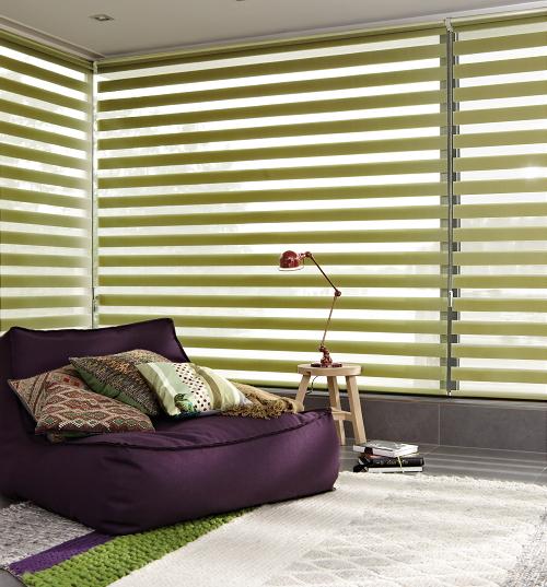 Kleur Gordijnen & Jaloezieёn - DroomHome | Interieur & Woonsite