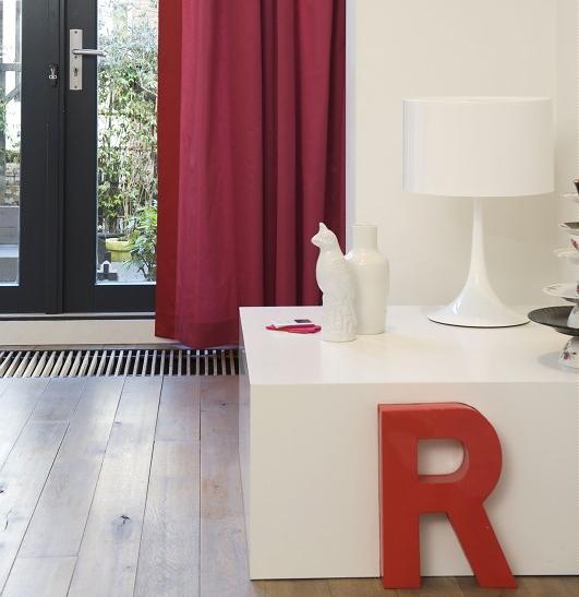 Gordijnen u0026 Jaloezieu00ebn Trend u0026#39;Trendy Kleurrijk Interieuru0026#39; - Fuchsia ...