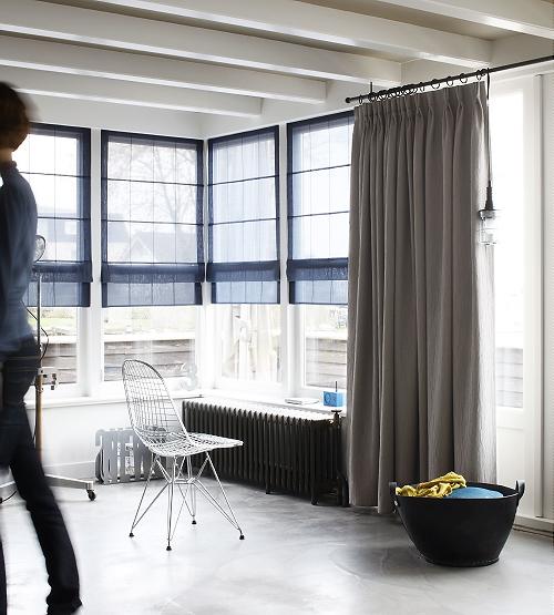 appartement raamdecoratie droomhome interieur woonsite