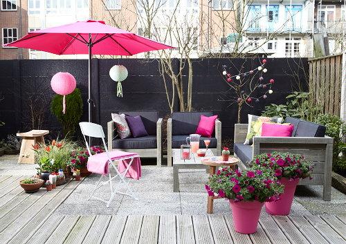 Tr s tropicana tuin droomhome interieur woonsite - Terras tuin decoratie ...
