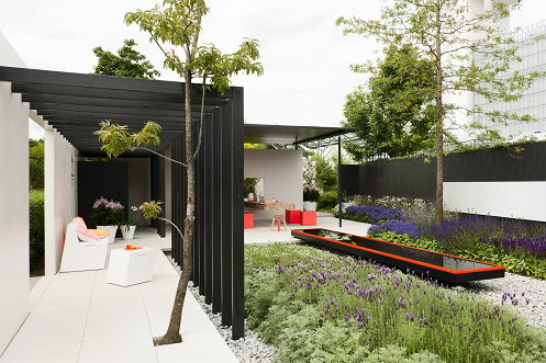Let me glow tuin droomhome interieur woonsite - Tuin layout foto ...