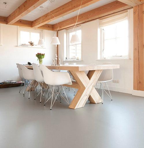 Tips Raambekleding Keuken : Interieurontwerper Piet Boon geeft aan de stijlvolle betonlook vloeren