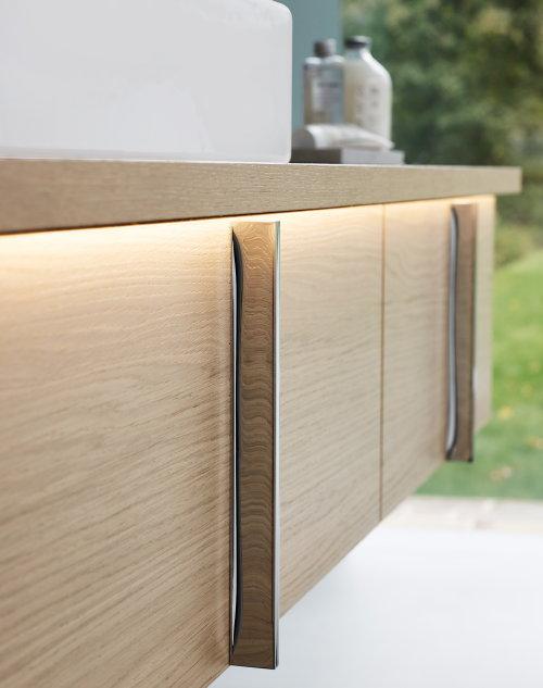 Droomhome interieur woonsite - Badkamer natuur hout ...