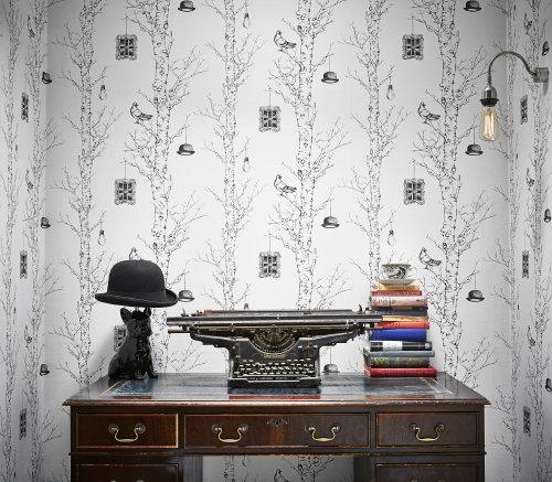 Droomhome interieur woonsite - Behang voor toiletten ...