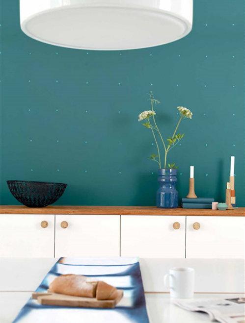 Keuken Grijs Groen : Groen & Blauw ? Flexa Muurverf Teal in de keuken – Meer Kleur