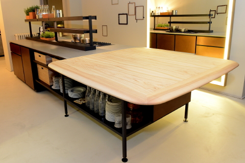 Keuken Met Gratis Quooker : Keuken Werkblad Dekton in Keuken Salinas, Design Patricia Urquiola