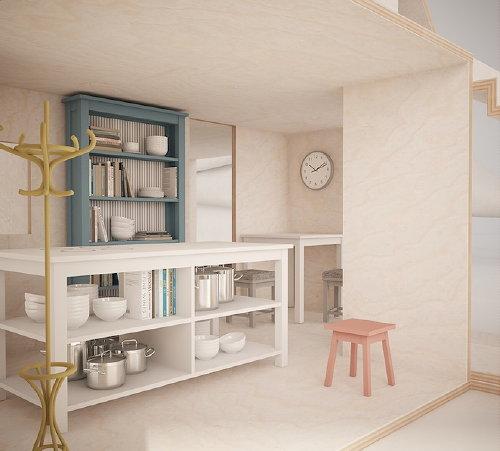 Droomhome interieur woonsite for Meubels poppenhuis