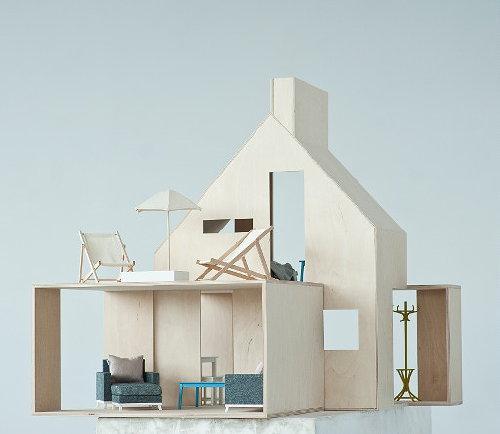 Design Poppenhuis Wood van Boomini! – Prachtig Poppenhuis Woonkamer ...