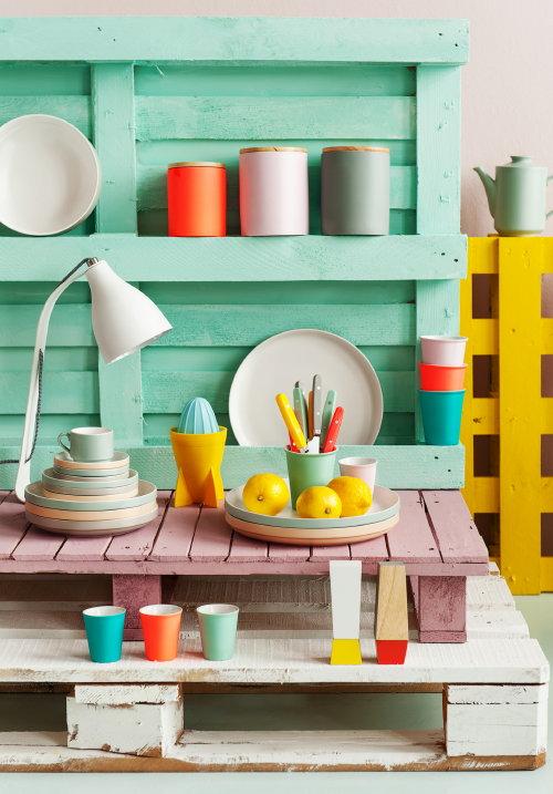 ... Pastel Grijs, Geel, Roze en Smaragd Groen – MEER … (Foto Present