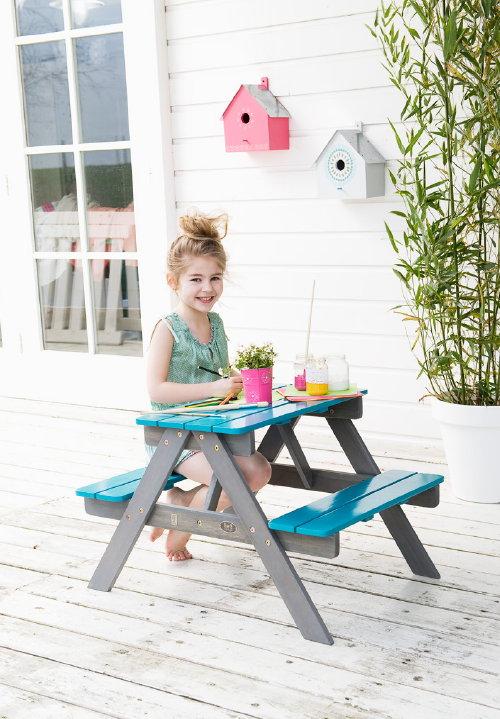 tuinmeubelen voor kinderen halve parasol. Black Bedroom Furniture Sets. Home Design Ideas