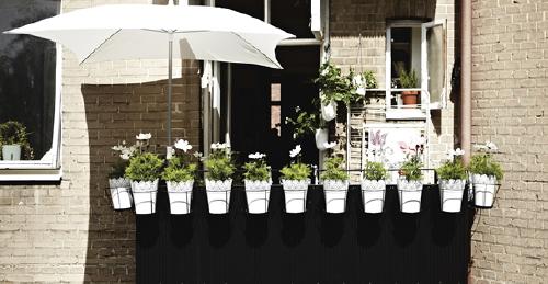 Tuin Balkon Ikea Kleine Tuin Terras Balkon